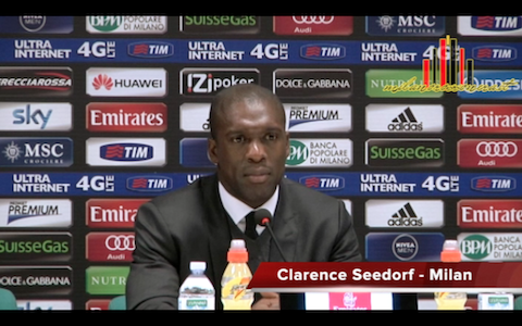 Clarence Seedorf MR - Milan Bologna
