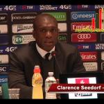 """Seedorf in conferenza: """"Faccio i complimenti ai ragazzi, bravi anche quando sono stati provocati. De Sciglio non sembra gravissimo"""""""