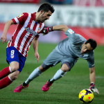 Twitter fair play: David Villa con i followers dell'Atletico Madrid