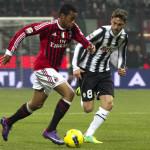 Verso Milan-Juventus: Asamoah a parte