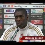 """LIVE MR – Seedorf: """"Balo non è ancora il futuro, di Berlusconi non parlo! Contro di me troppe invenzioni"""""""