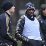 Milanello: la rifinitura pre Milan-Juventus