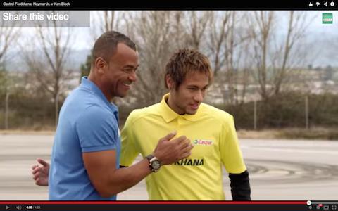 Cafù e Neymar