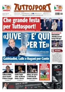 Tuttosport 17.04.14