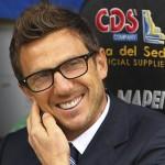 """LIVE Conferenza stampa Di Francesco: """"Felice di allenare il Sassuolo"""""""