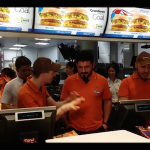VIDEO: Gattuso a Mc Donalds per un giorno