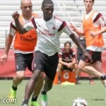 Zapata inizio allenamento con il gruppo