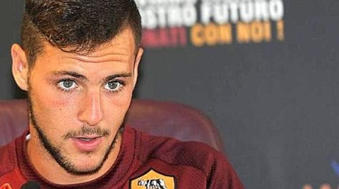 SOCCER: AS ROMA PRESENTS MATTIA DESTRO