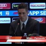 VIDEO: Presentazione Fernando Torres