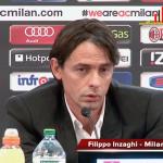 """LIVE Conferenza Stampa Filippo Inzaghi: """"Grandi meriti del Milan, se giochiamo così a Roma è lecito sognare"""""""