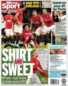Mirror Sport 27.10.14