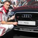 VIDEO: Quattro  rossoneri sfidano l'Audi R8