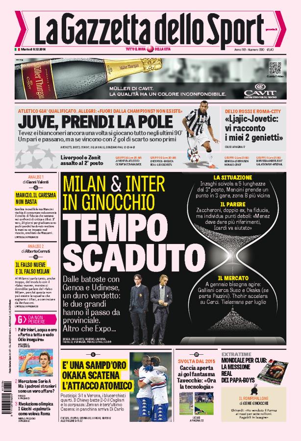Gazzetta 09.12.14