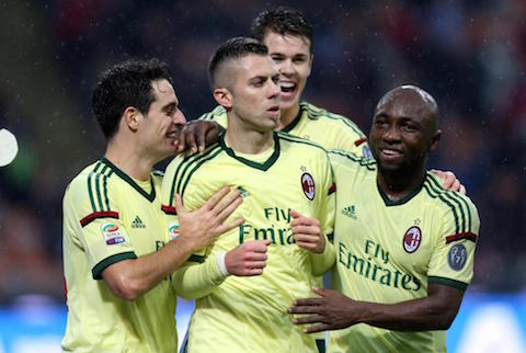 Soccer: Serie A; Milan - Udinese