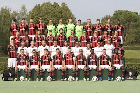 MILAN 2013-14 SQUADRA PRIMAVERA