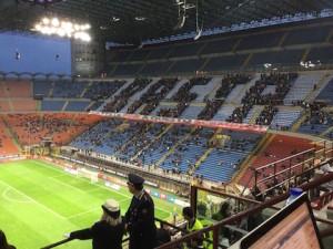 Curva Milan Basta