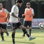 Rossoneri al lavoro a Milanello: lavoro tattico prima della partenza per Monaco