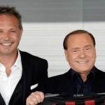 FOTO: Silvio Berlusconi festeggia con la squadra!