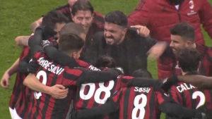 Gattuso_André Silva_Musacchio_Calabria