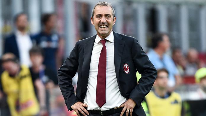 Db Milano 31/08/2019 - campionato di calcio serie A / Milan-Brescia / foto Daniele Buffa/Image Sport nella foto: Marco Giampaolo