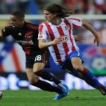 L'Atletico Madrid in semifinale di Coppa del Re ma perde Filipe Luis