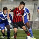 Primavera, Ternana-Milan fine primo tempo: 0-1, decide Simic